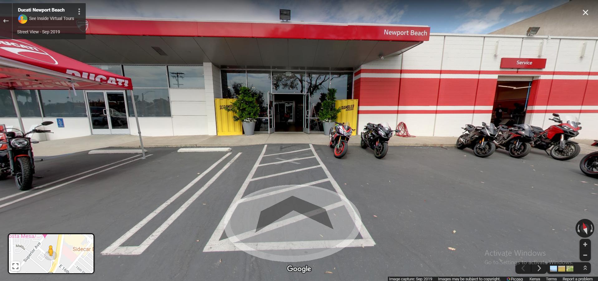 Ducati Newport Beach  Costa Mesa