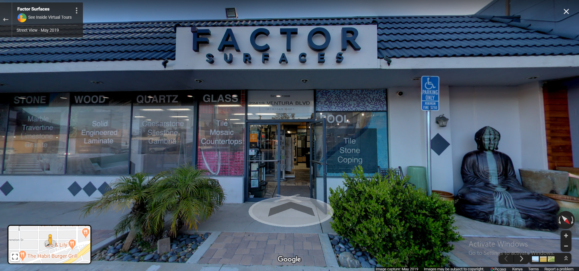 Factor Surfaces  Los Angeles