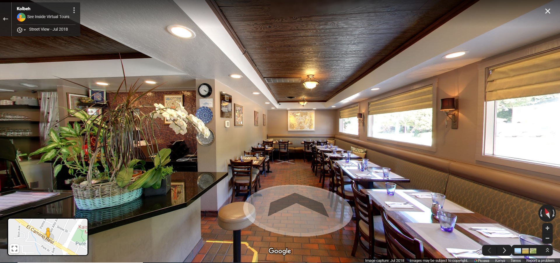 Kolbeh Restaurant  Mountain View