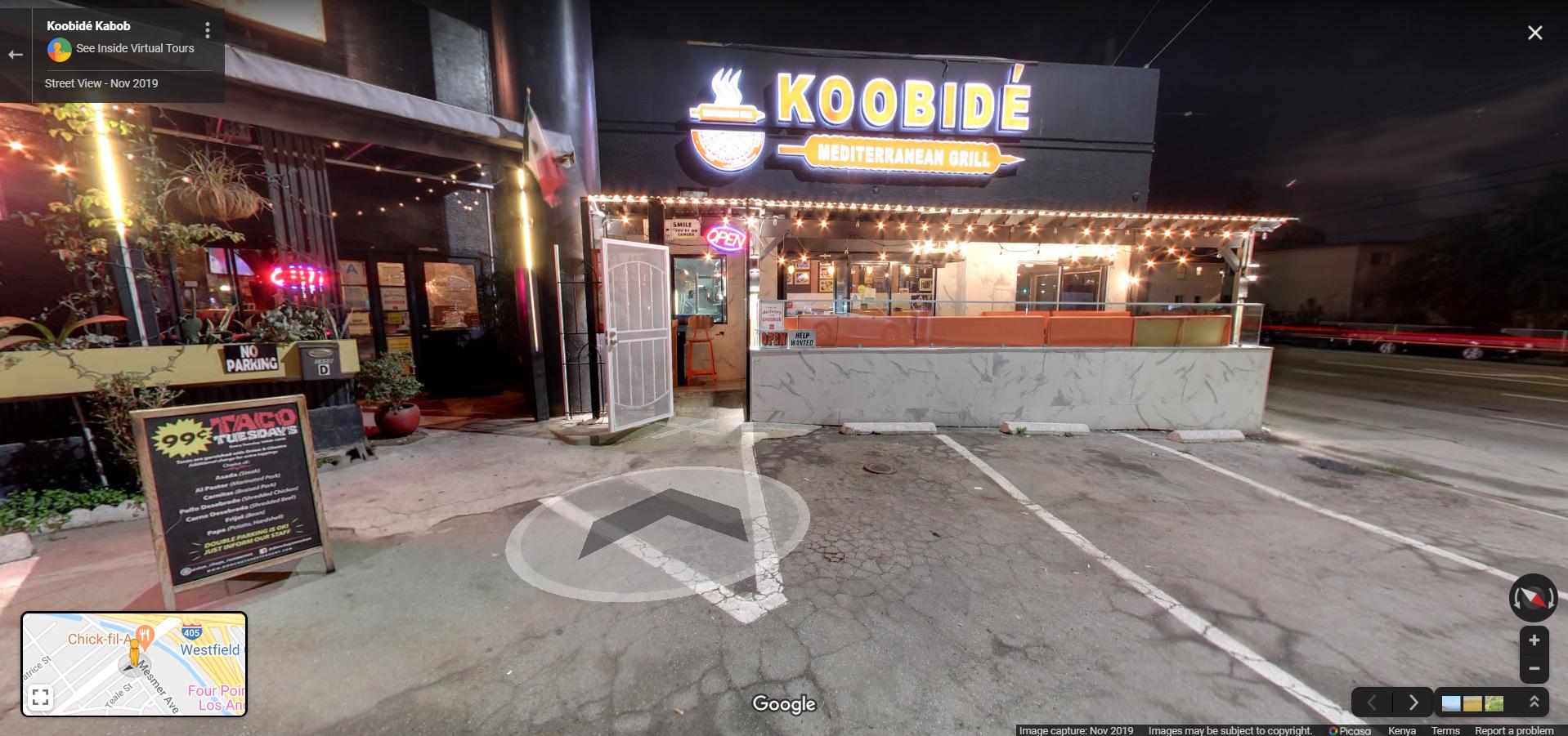 Koobidé Kabob  Los Angeles