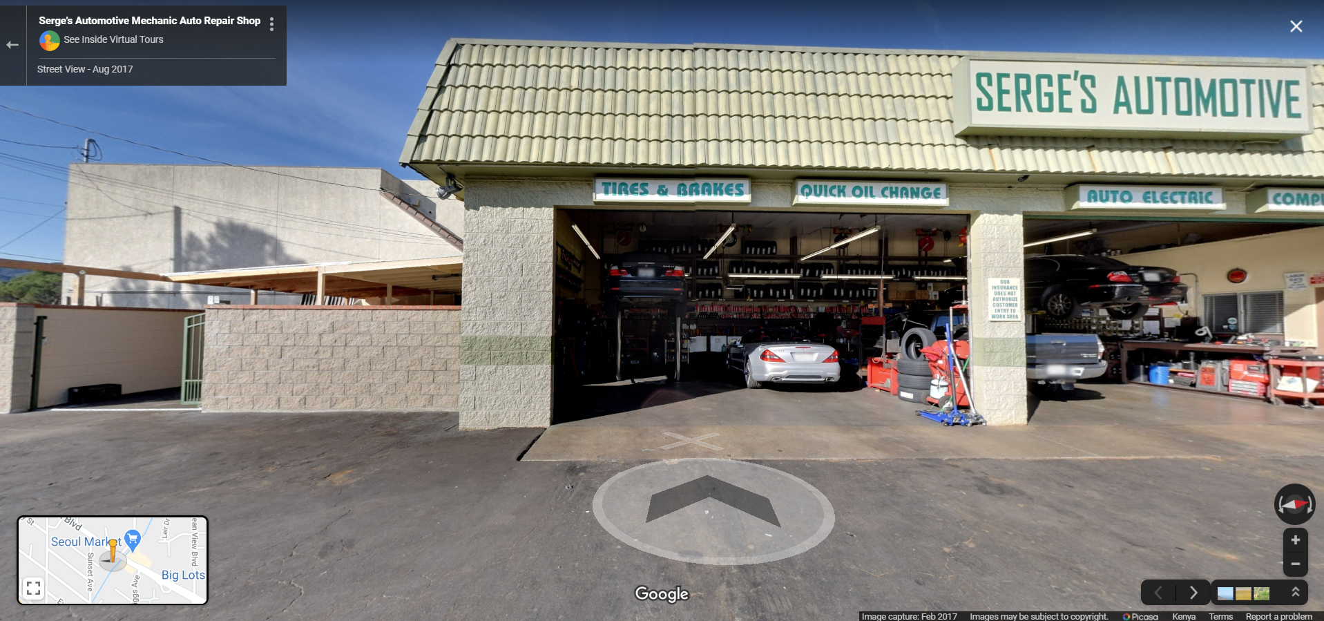 Serge's Automotive Mechanic Auto Repair Shop - La Crescenta