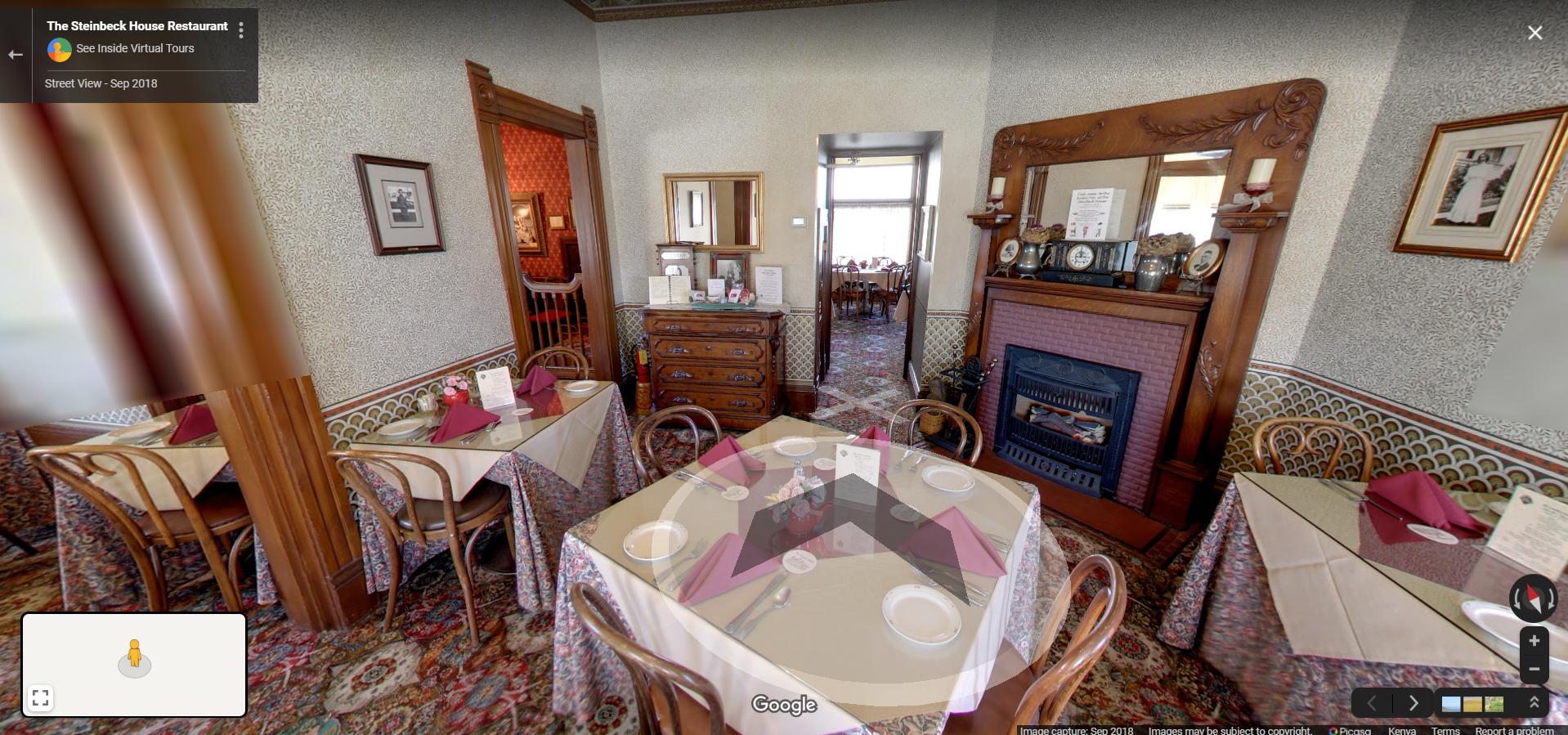 The Steinbeck House Restaurant  Salinas