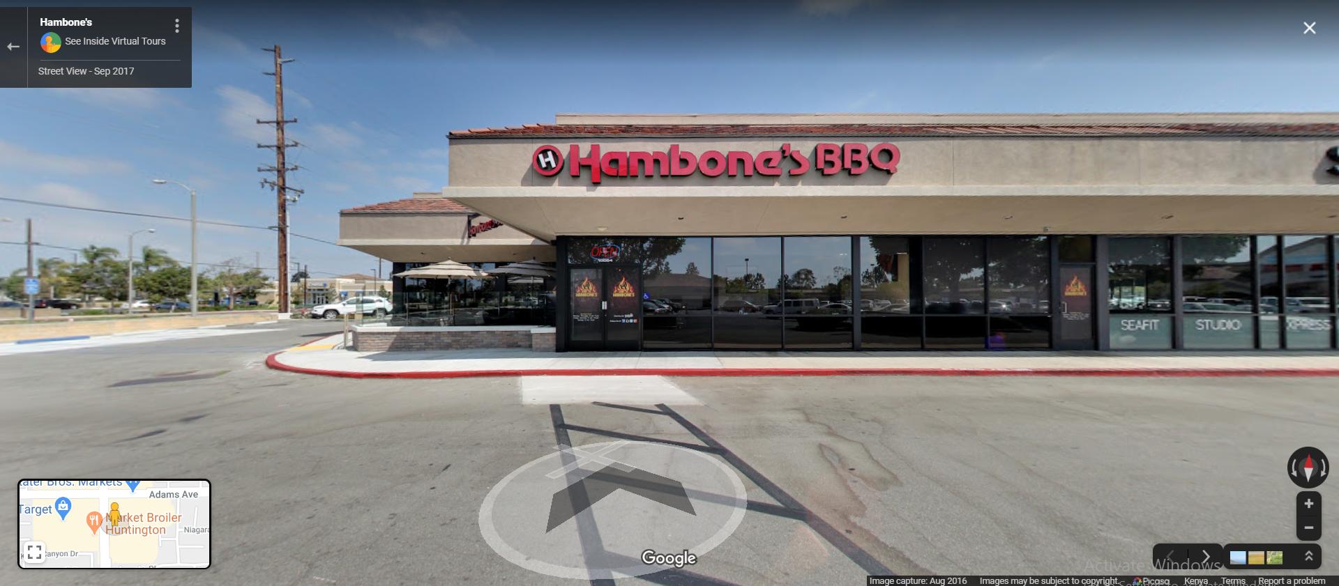 Hambone's BBQ - Huntington Beach