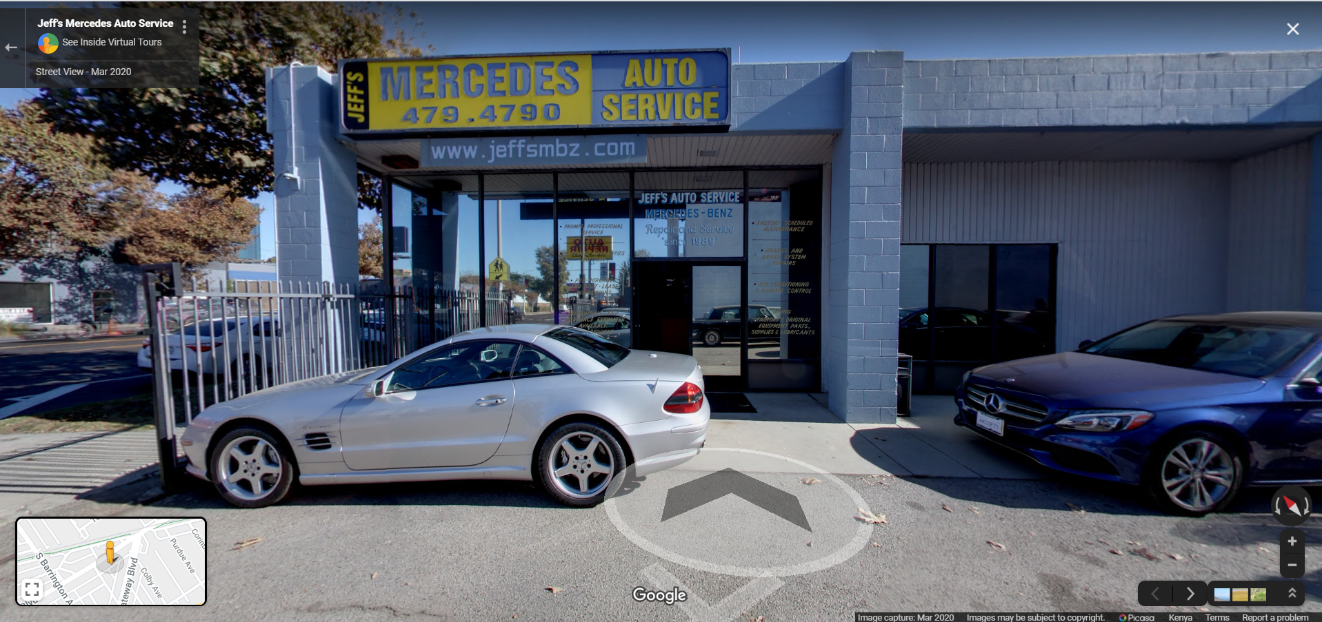 Jeff's Mercedes Auto Service - Los Angeles