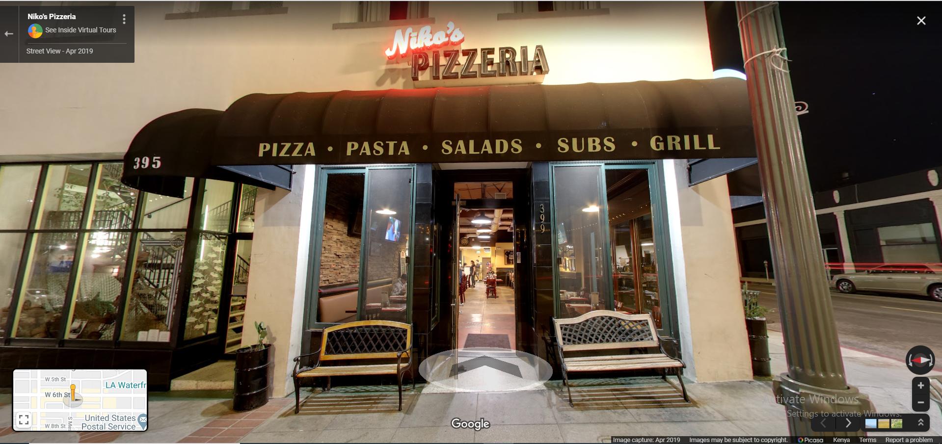 Niko's Pizzeria, Niko's Pizzeria - Los Angeles