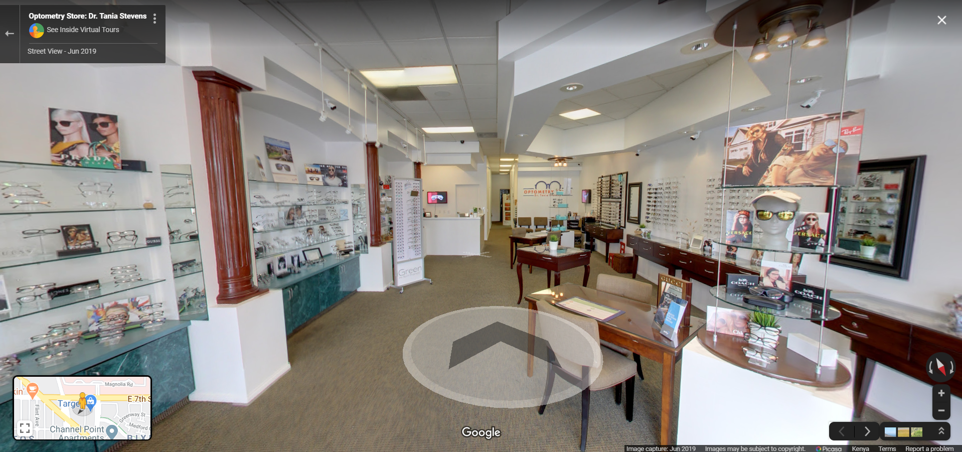 Optometry Store - Long Beach