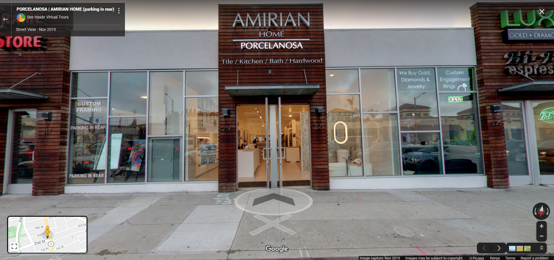 PORCELANOSA AMIRIAN HOME - Hermosa Beach