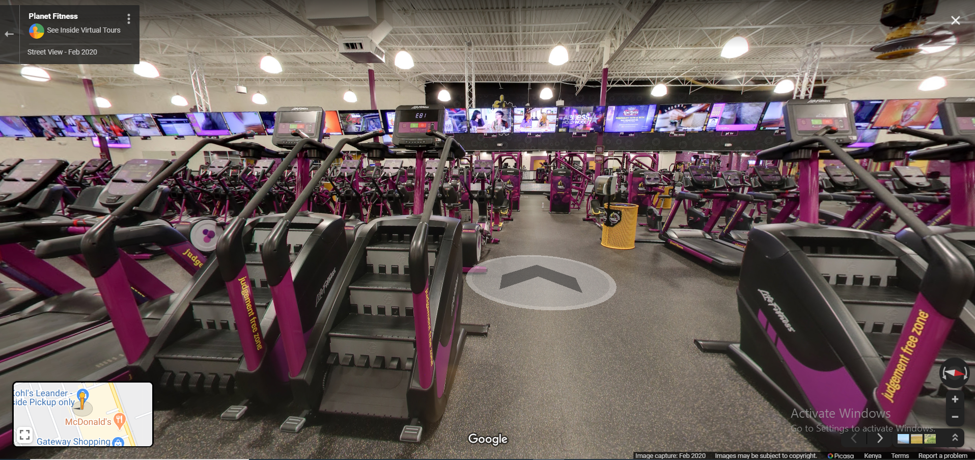 Fitness See Inside Virtual Tours
