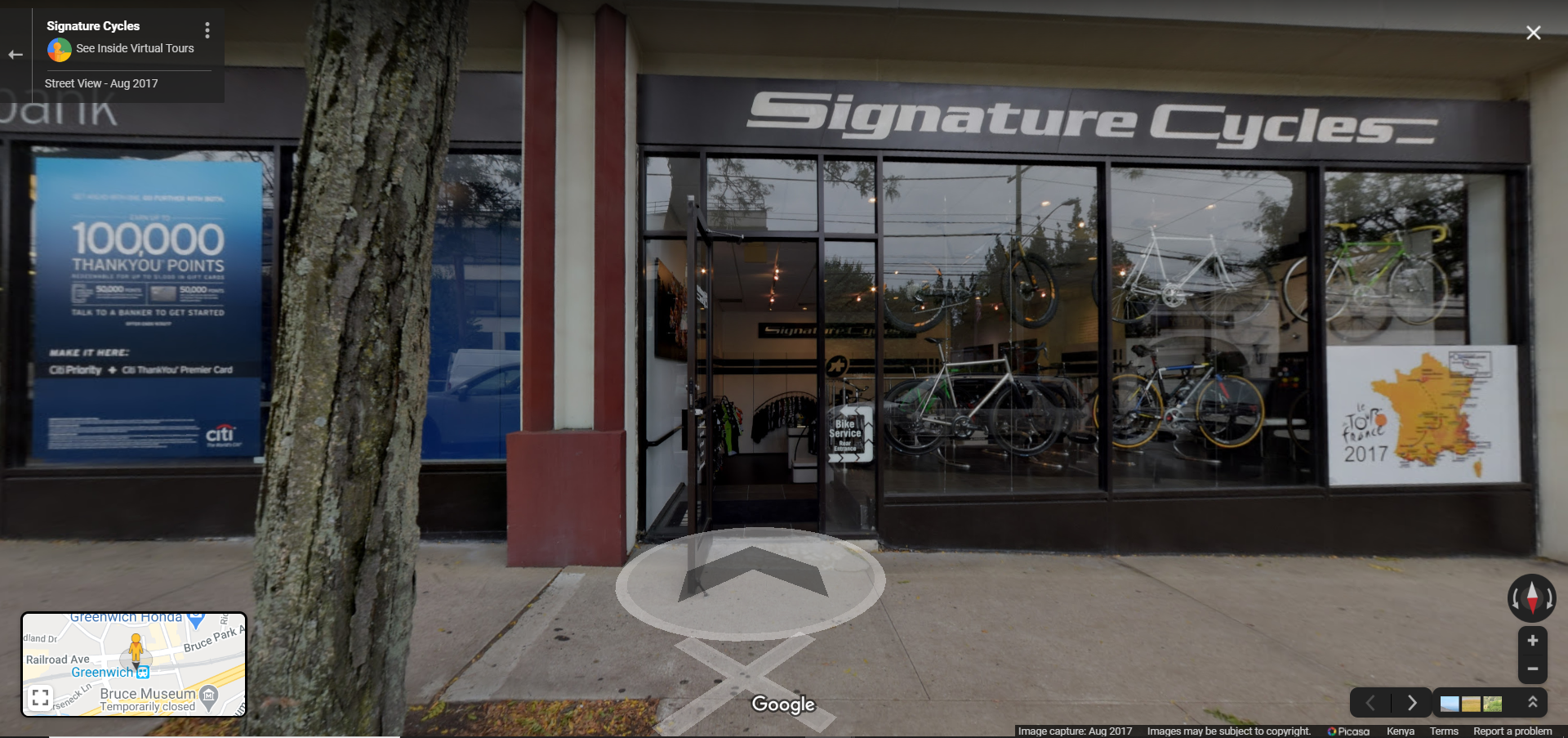 Signature Cycles - Greenwich