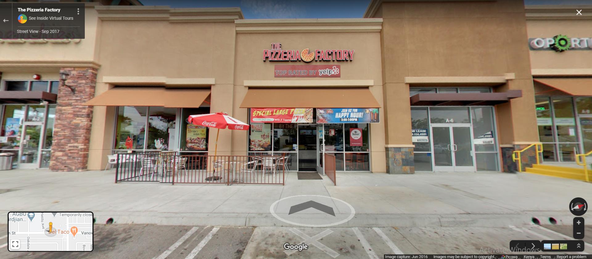 The Pizzeria Factory - Winnetka - Los Angeles