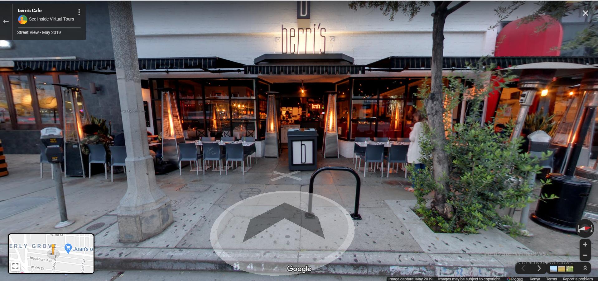 berri's pizza, Berri's Cafe - Los Angeles