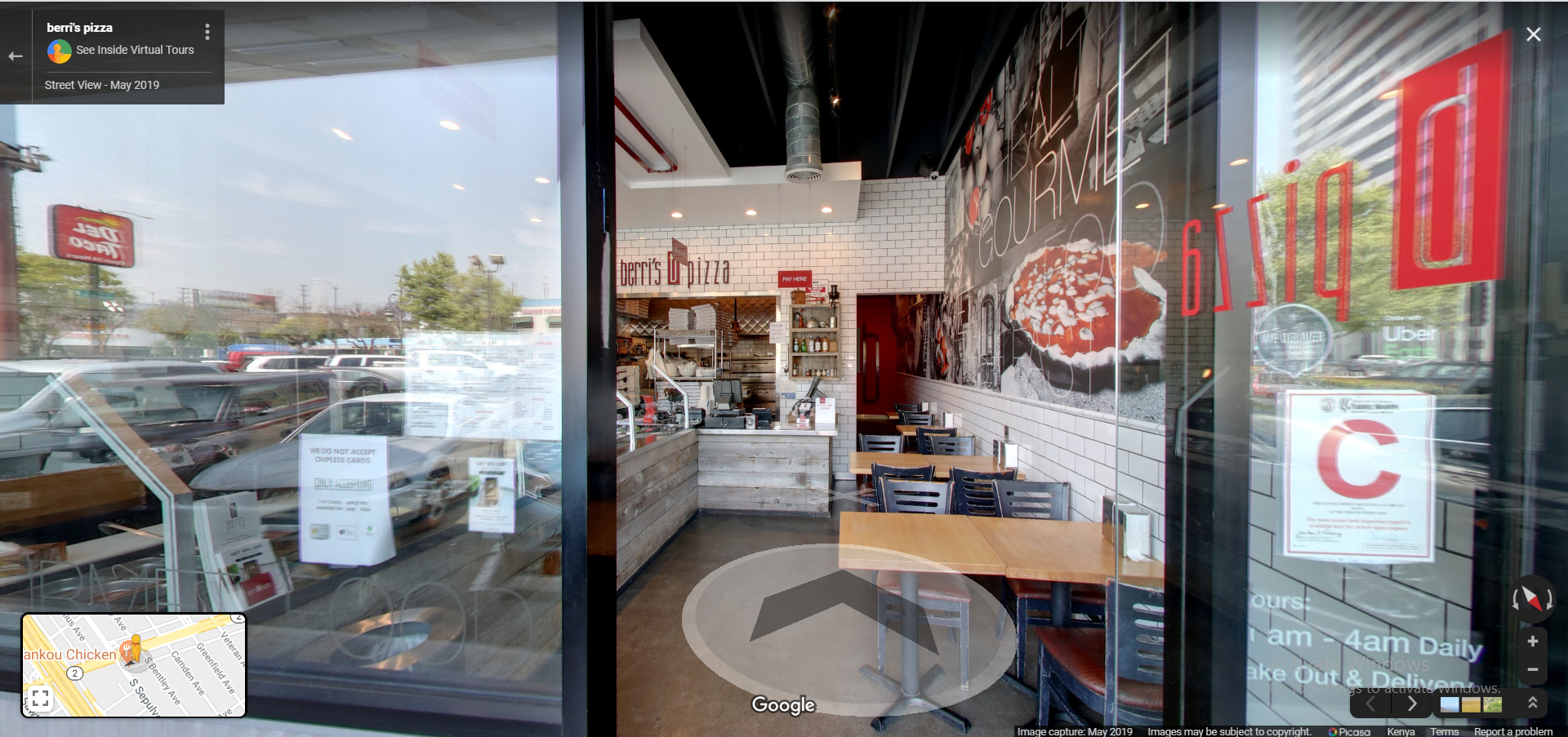 berri's pizza (Santa Monica Blvd.) - Los Angeles