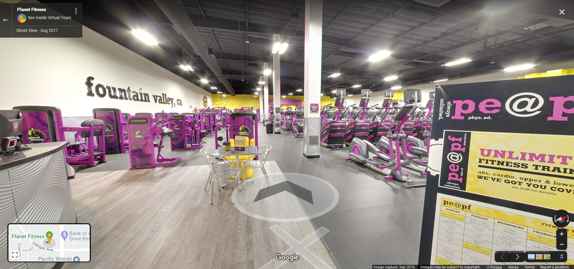 Planet Fitness Fountain Valley
